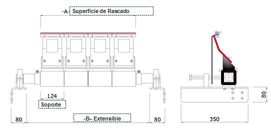 Rascador 124 PT