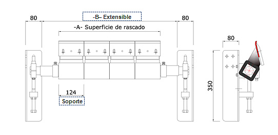 Rascador 124 ST