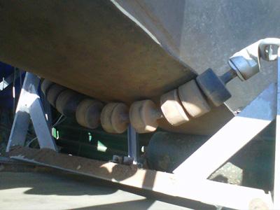 Componentes para bandas transportadoras